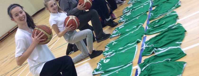 1st Yr Girls Basketball All-Ireland Quarter Final