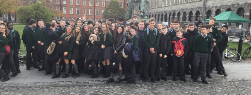 Second Year visit to Trinity College